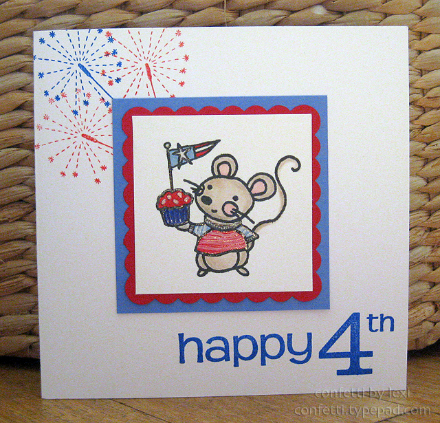 Happy4thcupcake