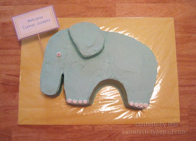 Elephantbabycake