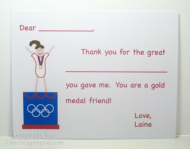 Gymnastthanks
