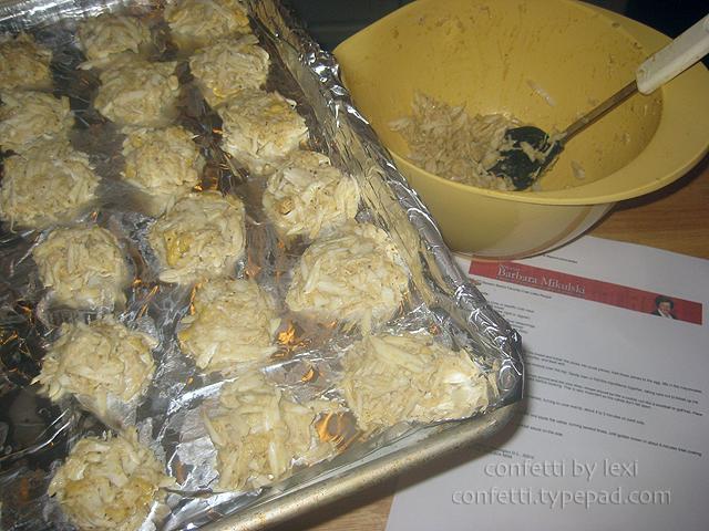 Crabcakesprep