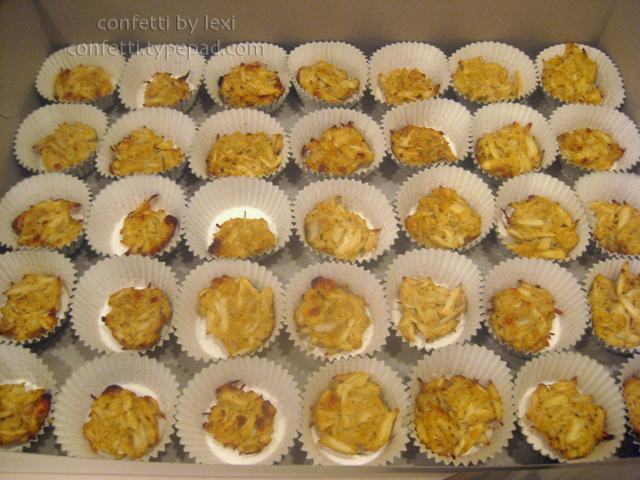 Crabcupcakes