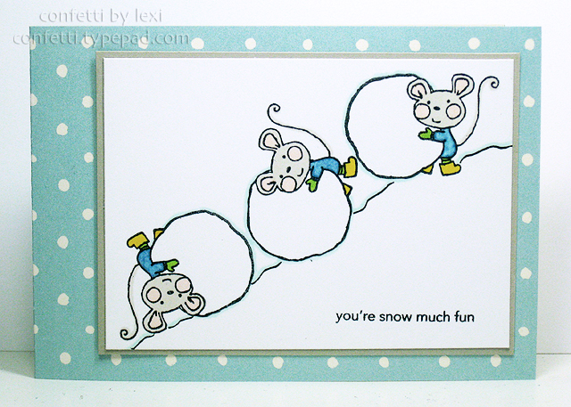 Rollingsnowmouse