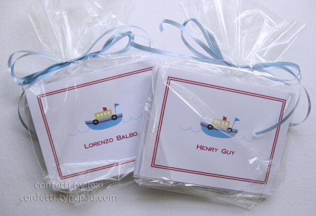 Babyboatcards