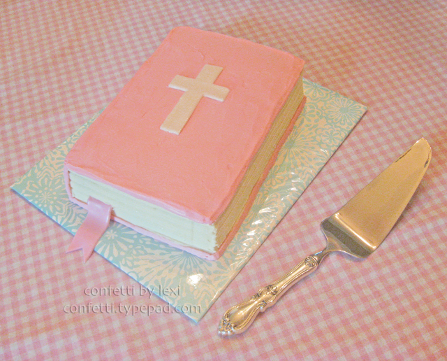 Communionbiblecake