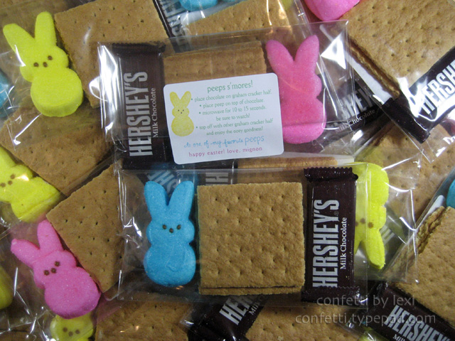 The Chellsen Clan: Easter Crafts - Peep S'more Kits
