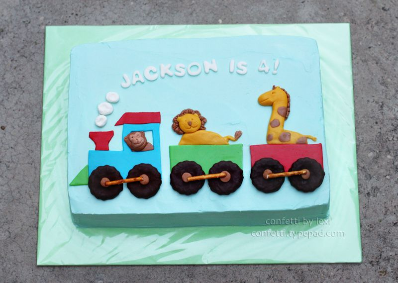Animaltraincake