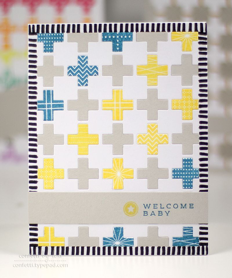 3yellowbluebabyquilt