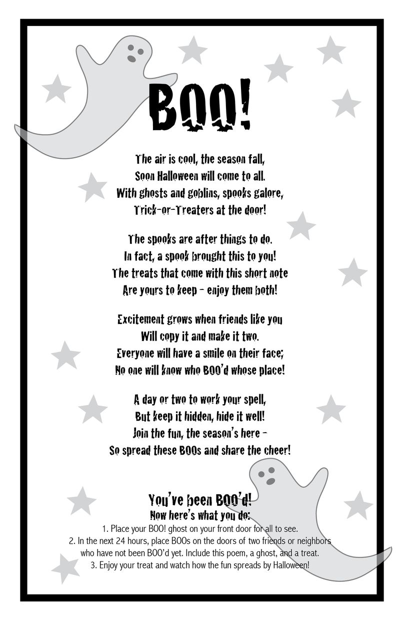 BOO poem