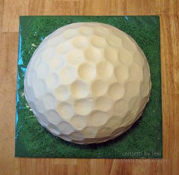 Golfballcake