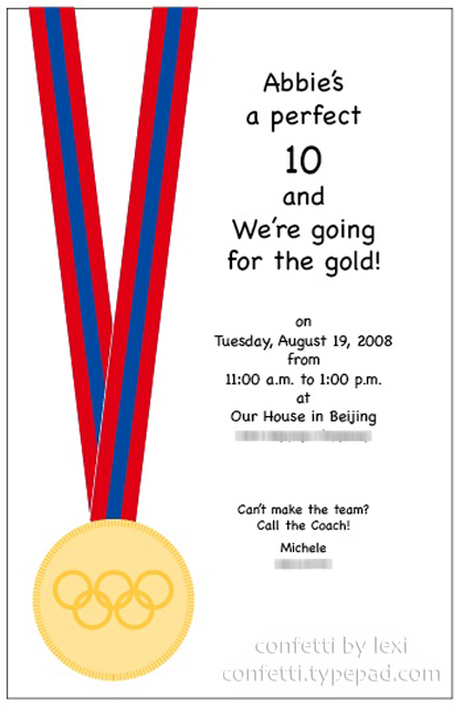 Olympicsinvite